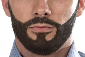 Barbe complète