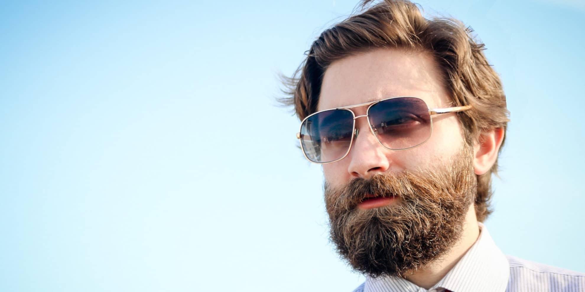 Greffe de barbe et moustache